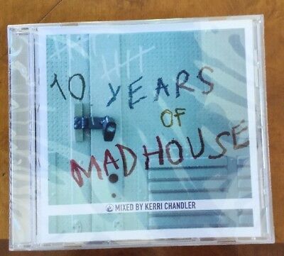 Kerri Chandler - 10 Years Of Madhouse (Dance Music2002) New Sealed Collectors CD • 7.50£