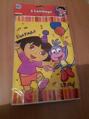 Dora The Explorer Party Bags Lootbags BNIP 1 Pack Only • 0.99£