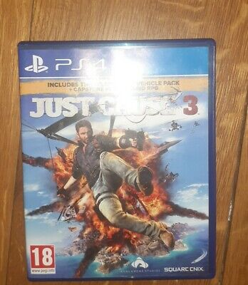 Just Cause 3 (Sony PlayStation 4, 2017) • 1£