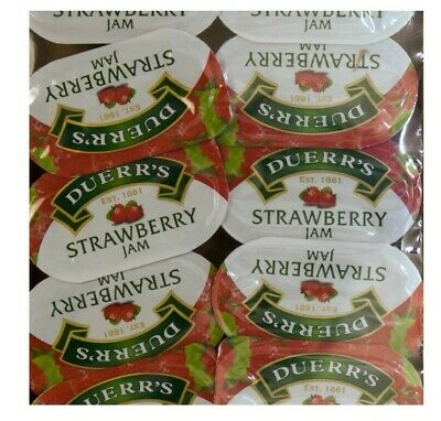 Duerrs Assorted Jam Portions STRAWBERRY /HONEY...Select Your Pack Size NEW STOCK • 6.79£