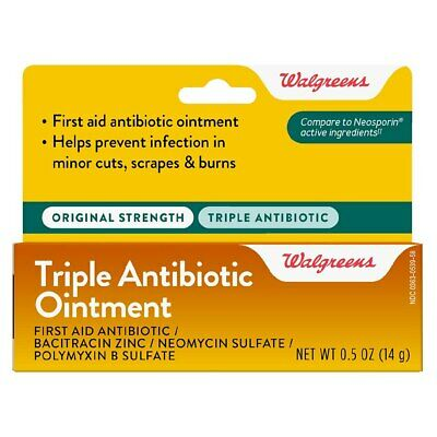 Walgreens Triple Antibiotic Generic Neosporin  Free EU Shipping • 7.12£