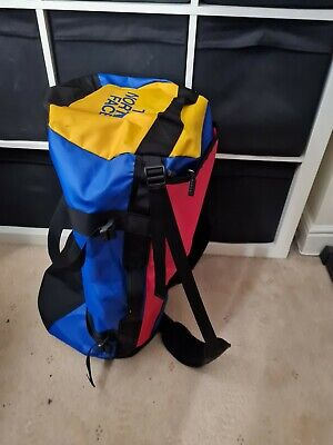 The North Face Base Camp Waterproof Duffel Large *rare Multi Colour* • 75£