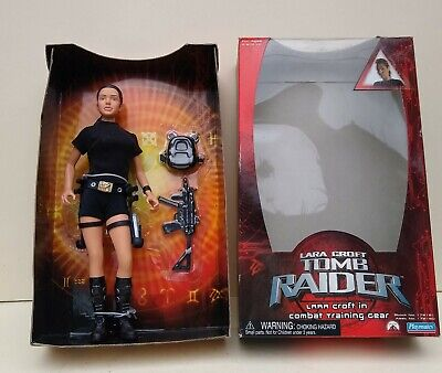 Lara Croft-tomb Raider -in Combat Training Gear - 2001 - Vivid /playmates • 28£