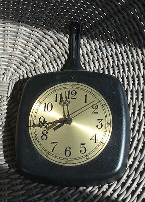 Vintage Frying Pan Clock • 37.52£