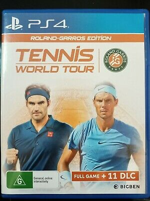 AU29 • Buy Tennis World Tour Roland Garros Edition - PS4 - USED - VERY GOOD CONDITION