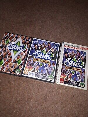 The Sims 3 & The Sims 3 Ambitions Expansion Pack Pc Games • 12.99£
