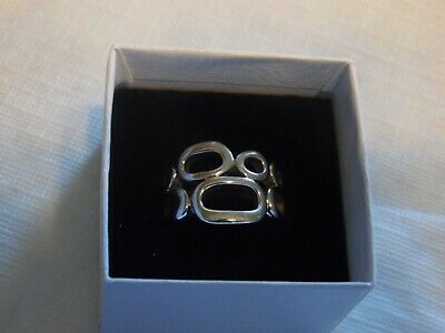 $ CDN12.53 • Buy Lia Sophia Silver Ring  Structure  Size 9 NEW