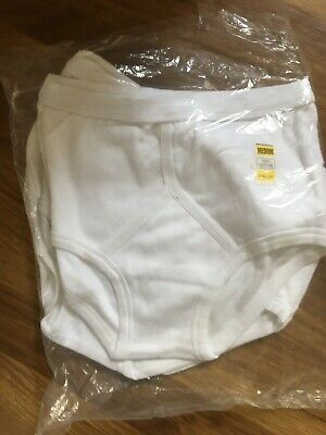 3 Pairs Mens Y/fronts Size Medium • 2£