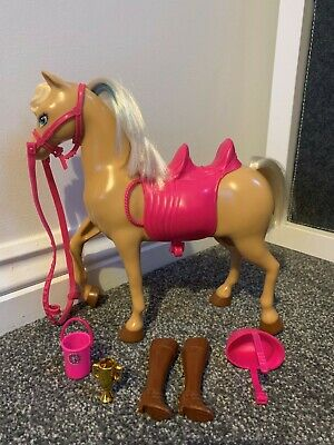 Barbie Horse Mattel Toy Set With Cute Accessories. • 3.90£