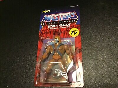 $24.99 • Buy Masters Of The Universe Robot He-Man Action Figure MOC Super 7 Vintage Series