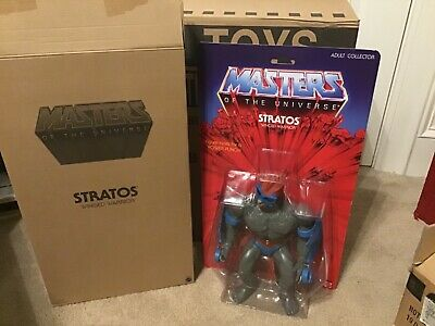 $39.99 • Buy Masters Of The Universe GIANT STRATOS 12  Figure Matty Collector MOTU Moc