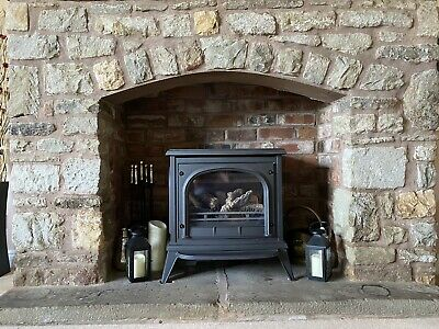 Gazco Ashdon Log Effect Gas Stove  • 950£