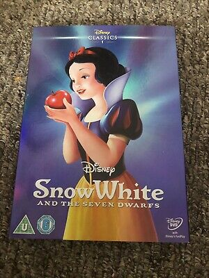 Snow White And The Seven Dwarfs (disney Classic Dvd Number With Limited O-ring) • 2.40£