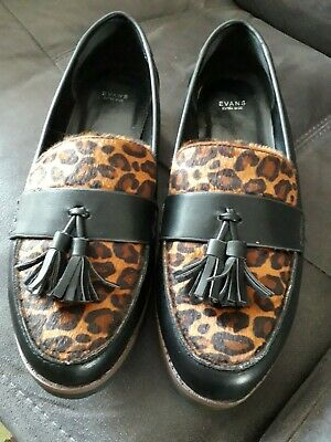 Evans Extra Wide Ladies Shoes/loafers Size 9 EEE -  Excellent Condition • 13£