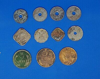 Assorted Job Lot Of Indian And Foreign Coins • 5£