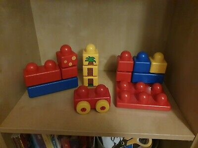 £9.99 • Buy Duplo Lego Primo Childs First Wheeled Base Board Assorted Construction Bricks