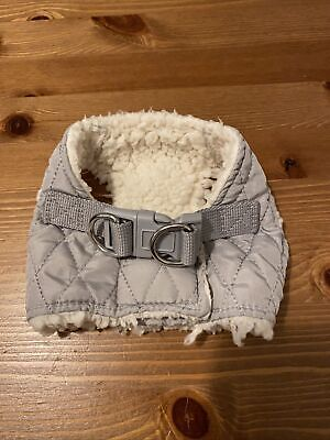 Pets At Home Grey Dog Harness - Size XXS • 1£