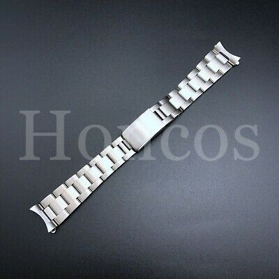$ CDN24.14 • Buy 19 MM Unisex Silver Stainless Steel Oyster Watch Band For Vintage Rolex GMT L83