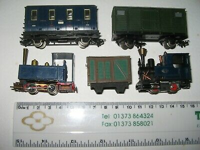 HOe/009 Locomotives, Coach & Wagons SPARES Or REPAIR • 45£