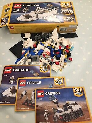 Lego Creator Space Shuttle Explorer 3 In 1 - 31066 - For 7 To 12 Years Old • 7.99£