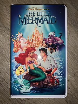BN Disney Store The Little Mermaid VHS Notebook • 0.99£