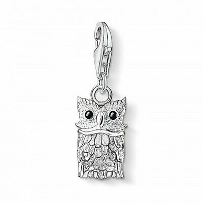 Owl Clasp Charm/ Pendant 925 Sterling Silver Animal - Nature - Bracelet Gift • 12.99£