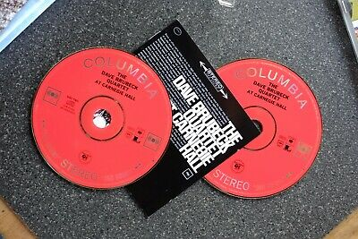 The Dave Brubeck Quartet At Carnegie Hall 1963. 2 CD Set. • 4.50£