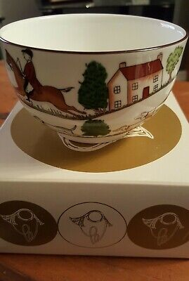 Coalport Hunting Scene Sugar Bowl And Box • 12.99£