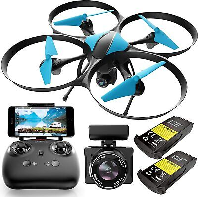 AU131.82 • Buy Force1 U49WF Drone With Camera For Adults