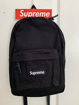 $ CDN240 • Buy Supreme Canvas Backpack Black FW20