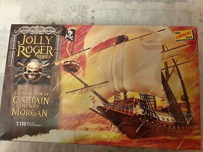 Pirate Ship,the Satisfaction Of Captain Henry Morgan.1:130 Scale Model Kit. • 15£