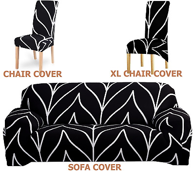 AU3.79 • Buy Chair Covers XL Chair Covers Sofa Covers Furniture Protector Slipcovers AU Stock