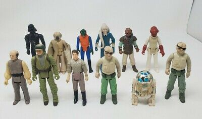 $ CDN39.19 • Buy Vintage Star Wars Action Figures Lot Of 12 Mixed Lot From Years 1977 - 1984