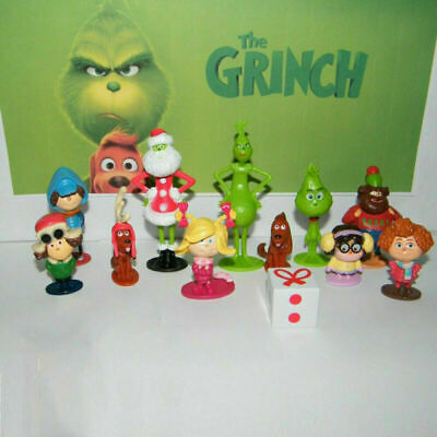 £10.07 • Buy How The Grinch Stole Christmas 12 PCS Cartoon Action Figure Kids Toy Doll Giftsr