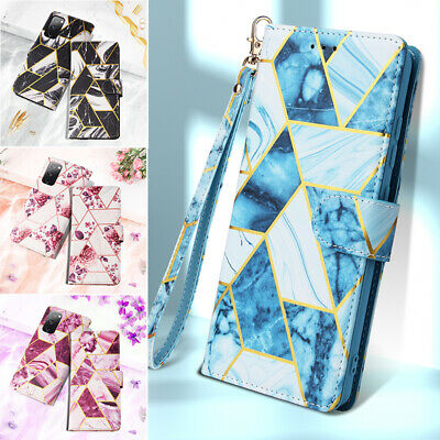 AU14.99 • Buy For IPhone 12 11 Pro Max Mini XS 8/SE Plus Case Marble Leather Wallet Flip Cover