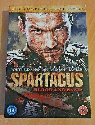 DVD - Spartacus: Blood And Sand: The Complete First Series [4-Disc] UK Region 2 • 3.99£