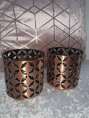 Yankee Candle Moroccan Copper Jar Holders  • 10£