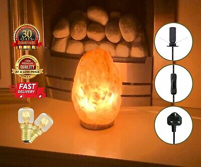 2-3KG Himalayan Salt Lamp Pink Crystal Rock Natural Healing Ionizing Salt Lamp • 13.99£