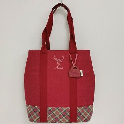 Ness Shoulder Bag One Size Women's Red Casual Occasion Buttoned 342021 • 6.99£