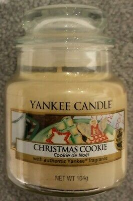 Yankee Candle Small Jar Christmas Cookie 104gr 40hr Burn Great Gift Idea  • 3.50£