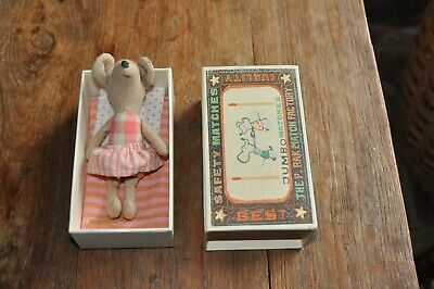 Maileg Mouse In A Matchbox St Louis • 24£