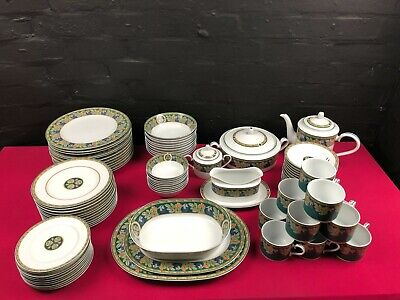 84 Pieces Of Noritake Brandy Wine Large Dinner And Tea Set Service For 12 • 99.99£