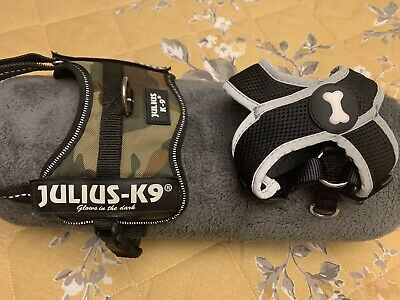 Julius-K9 Power Harness, 2xs - Camouflage,& Black Pets At Home Harness • 5.50£
