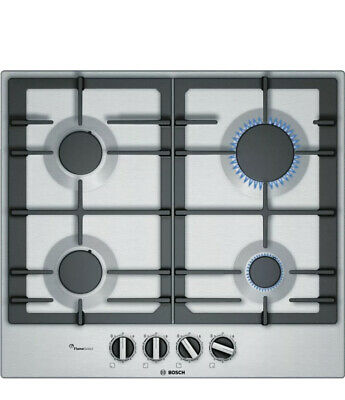 BOSCH Serie 6 PCP6A5B90 Gas Hob - Stainless Steel New Box Tatty Item New • 230£