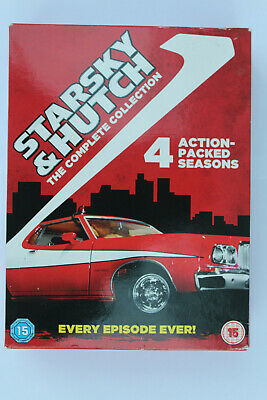 Starsky And Hutch - Series 1-4 - Complete (DVD, 2006, 20-Disc Set, Box Set) • 10.50£