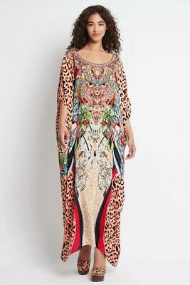 AU306 • Buy Czarina  Mocha My Life  Round Neck Long Kaftan