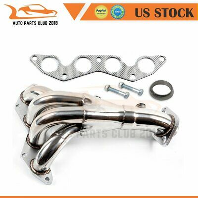 $59.78 • Buy For 01 02 03 HONDA CIVIC DX/LX D17 1.7 EM2/ES1 STAINLESS MANIFOLD HEADER Exhaust