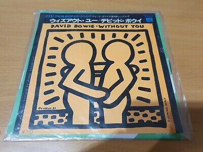 3 X David Bowie Rare Japanese Import Vinyl Singles Lets Dance Without You *RARE* • 110£