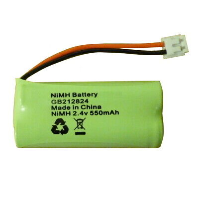 £2.80 • Buy Rechargeable Battery For Binatone Lifestyle 1910 1920 Phone 2.4V NiMH 212824GB
