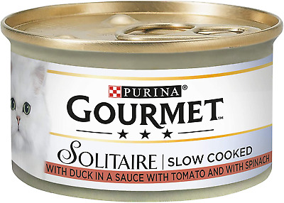 Gourmet Solitaire Duck And Vegetables, 85 G - Pack Of 12 • 12.99£